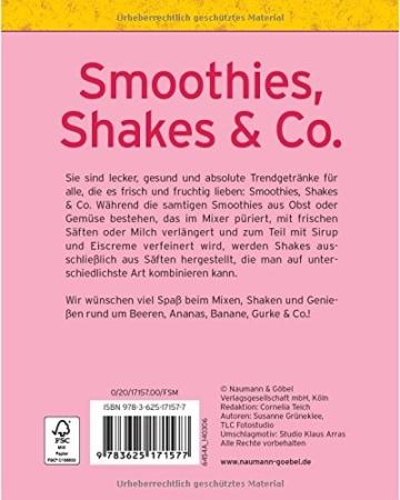 rezeptbuch klein smoothies